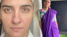 Shruti Seth Posts Gorgeous Close-Up Shot Without Makeup, Says 'Eat Clean, Hydrate, Sleep'