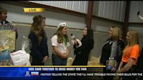 Local students raising money for fair