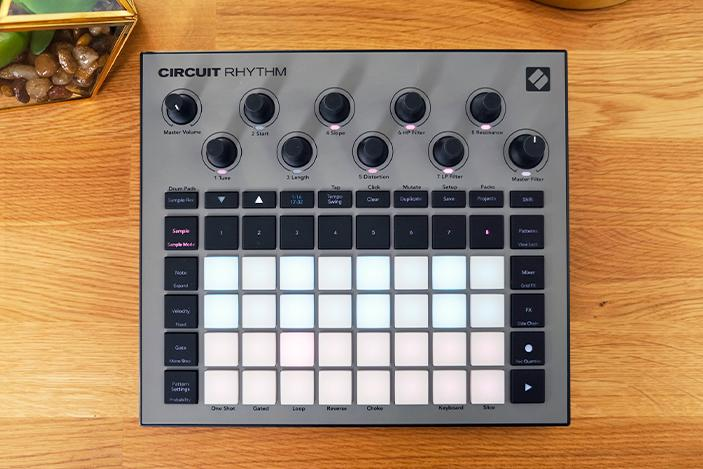 Novation Circuit Rhythm review: A modern sampler inspired by a classic
