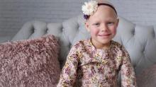 """""""Aos 6 anos, minha filha já venceu o câncer duas vezes"""""""