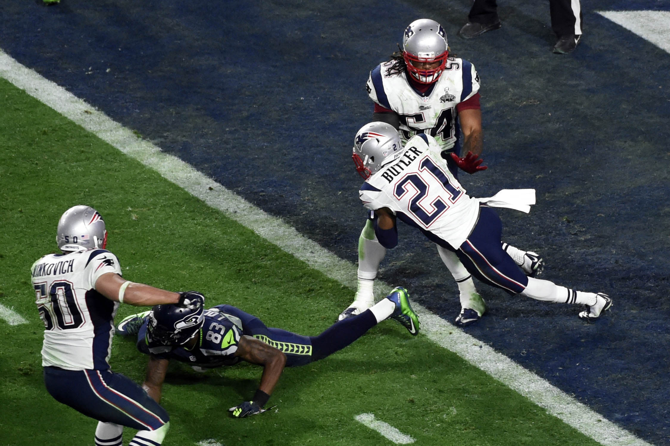 Malcolm Butler s goal line pick clinches Super Bowl win for