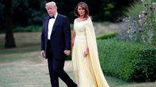 Melania Trump compared to Disney princess at black-tie dinner