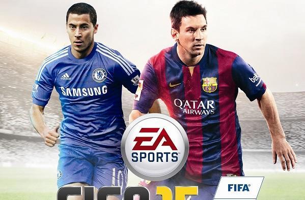 In the garden of Eden Hazard, don't you know that I love FIFA 15?