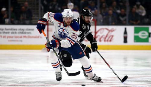 NHL: Draisaitl in überragender Form: Torrekord von Sturm eingestellt