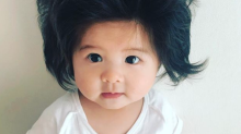 The internet is obsessed with this 6-month-old baby's hair