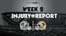 Friday Week 2 injury report for Raiders: WR Henry Ruggs misses practice again