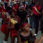 Helping Hand Mission marching band shines during Raleigh Christmas Parade