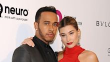 Eat Your Heart Out, Bieber! Hailey Baldwin Cozies Up to Lewis Hamilton at Oscars Party