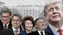 Trump admits his Cabinet had 'some clinkers'