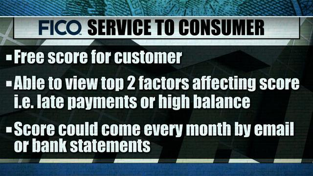 FICO wants to provide monthly credit score for free