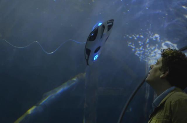 The PowerRay drone is an aquatic spyglass for playboy fishermen