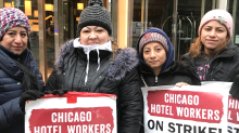 Cambria Chicago hotel changes name as hotel workers continue strike