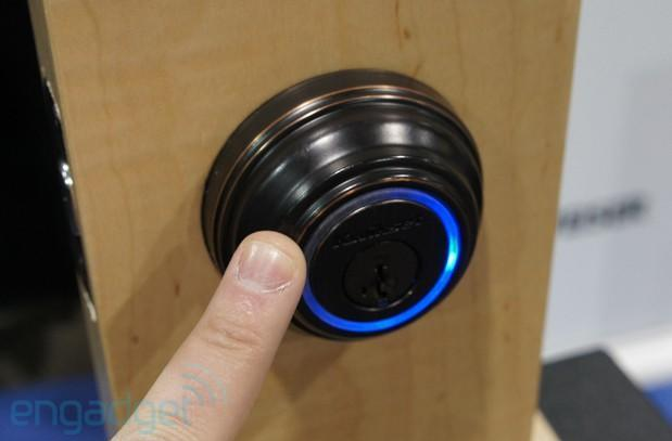 Hands-on with Kwikset and UniKey's Kevo keyless entry system