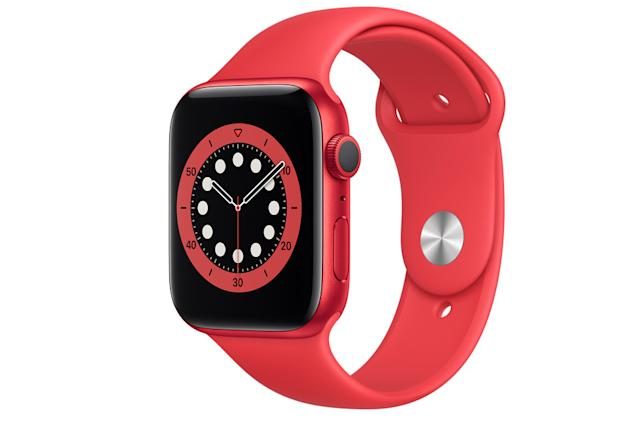 The Apple Watch Series 6 falls to an all-time low of $299
