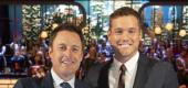 Chris Harrison and Colton Underwood. (Getty Images)