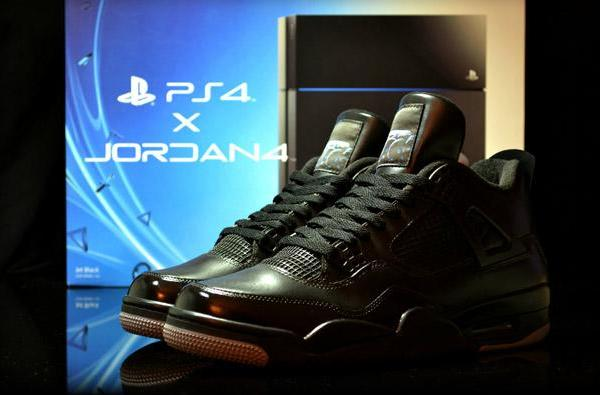 Nothing says you're a Sony fanboy like a pair of PS4-themed Air Jordans