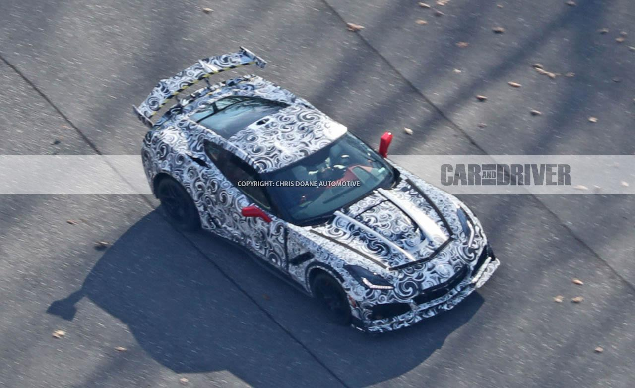 the 2018 corvette stingray zr1 is going to have insane aero. Cars Review. Best American Auto & Cars Review