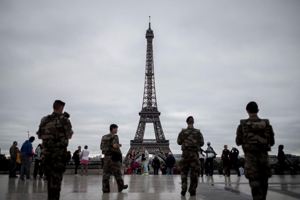 Parisians have grown accustomed to seeing the army patrolling sensitive sites