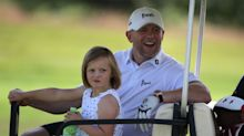Mike Tindall admits it's 'nice to have a boy around' after being 'outnumbered' by daughters