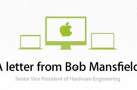 Bob Mansfield: 'all eligible Apple products are back on EPEAT'