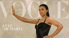 Marta estampa capa da Vogue e critica diferença salarial entre homens e mulheres em campo