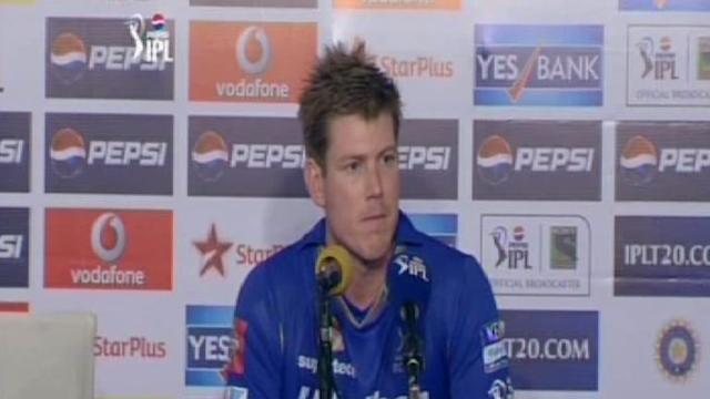 Rajasthan Royals post-match press conference
