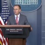 White House Acting Chief of Staff Mick Mulvaney discusses withheld aid to Ukraine