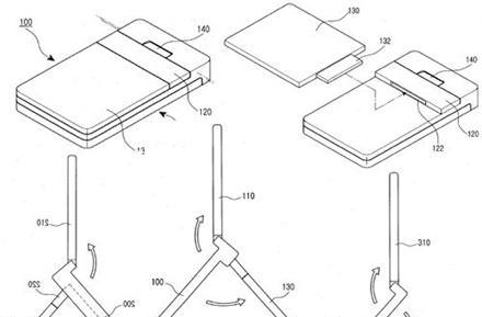 Samsung thinks your battery should double as a kickstand