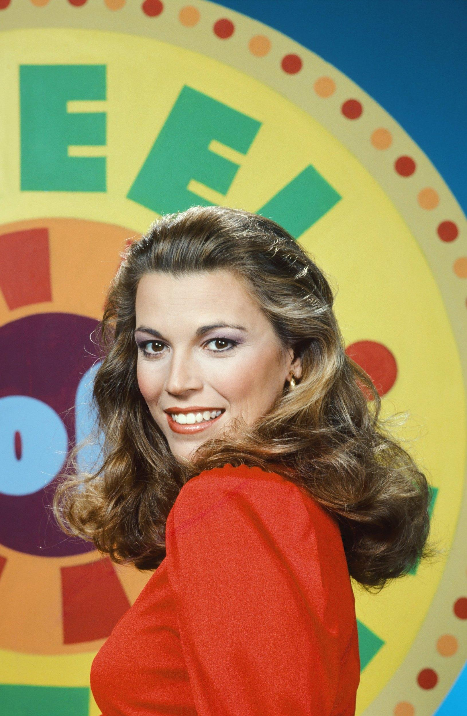 WHEEL OF FORTUNE -- Season 10 -- Pictured: Hostess Vanna White -- Photo by: Herb Ball/NBCU Photo Bank