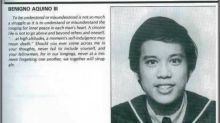 PNoy's college yearbook writeup won't probably make it to his tribute reel