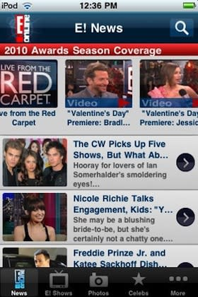 Live from the Red Carpet: E! Online mobile app relaunched for Oscars