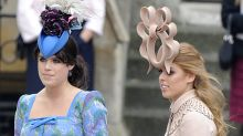 Princess Beatrice and Princess Eugenie cried after Royal Wedding hat gate