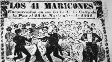 """""""El baile de los cuarenta y uno (maricones)"""" uno de los episodios más infames de la Historia de México"""