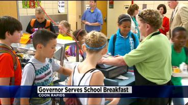 Gov. Dayton Vows To Ensure No Child Goes Hungry At School