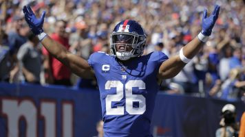 Saquon Barkley ready to roll for Sunday