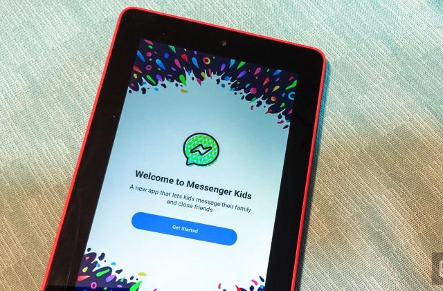 Facebook's Messenger Kids app arrives on Amazon Fire tablets