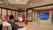 東奧開幕式中華代表團出場  謝長廷線上加油 (圖)
