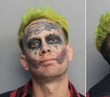 Tattooed 'Joker' Arrested for Pointing Loaded Gun at Passing Cars: Cops
