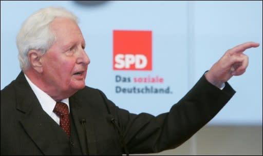 Trauerfeier Hans Jochen Vogel