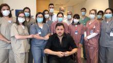 "Mauricio Manieri recebe alta de hospital e agradece médico: ""Me salvou"""