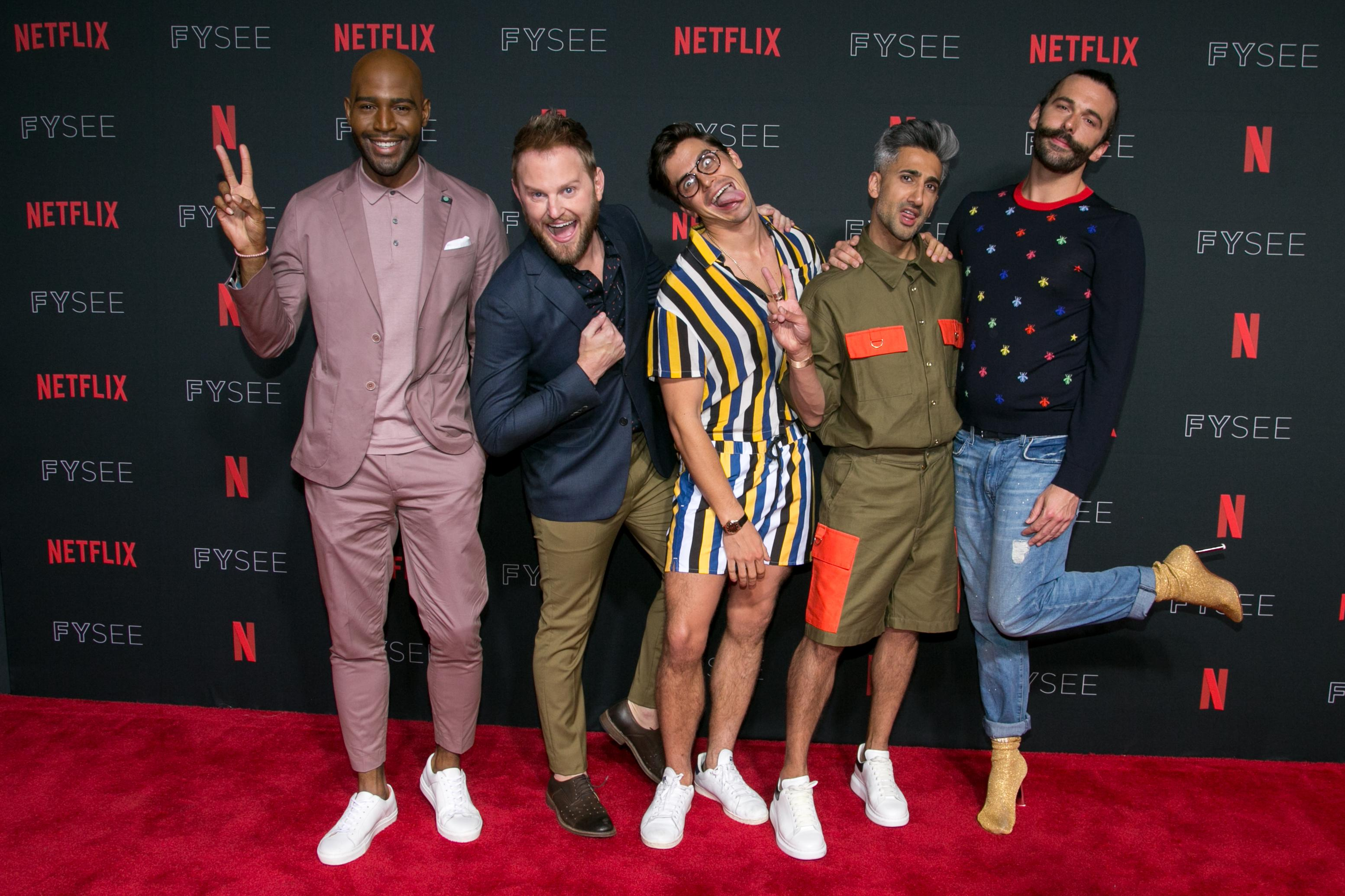 Queer Eye's Jonathan Van Ness Shows a Midwestern Contractor How to