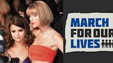 Taylor and Selena Get Political