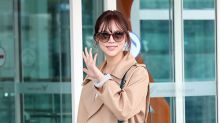 朴詩妍現身機場 赴法國巴黎拍攝畫報