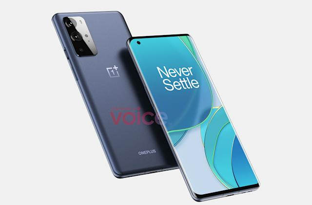 OnePlus 9 Pro leak hints the curved screen is here to stay