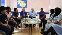 The harsh reality of underfunding at my hospital? Swept away for Johnson visit