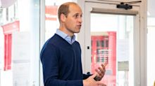 Royal fans praise 'adorable' pictures of Prince William with three kids to mark Father's Day