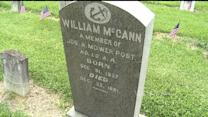 Mistake Found on Chalmette Soldier`s Gravestone