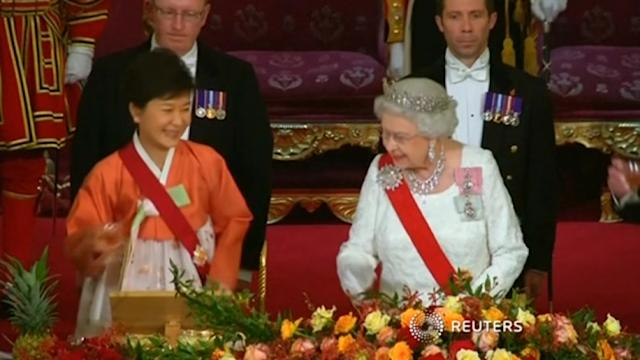 Royal banquet for South Korean President