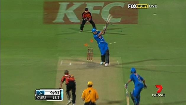 Strikers out of Big Bash