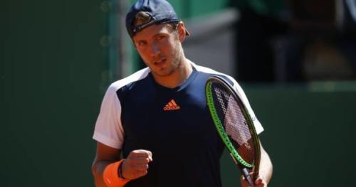 Tennis - ATP - Monte-Carlo - Monte-Carlo : Lucas Pouille s'est montré très efficace au premier tour